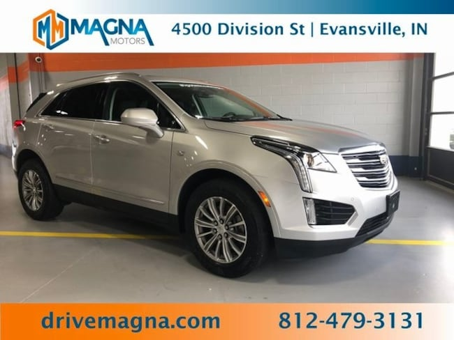 Used 2017 Cadillac Xt5 For Sale Evansville In Vin