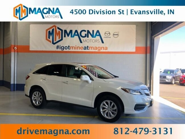 Used 2017 Acura RDX V6 AWD SUV for sale in Owensboro