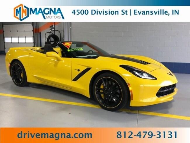 Used 2018 Chevrolet Corvette Stingray Z51 Convertible for sale in Owensboro
