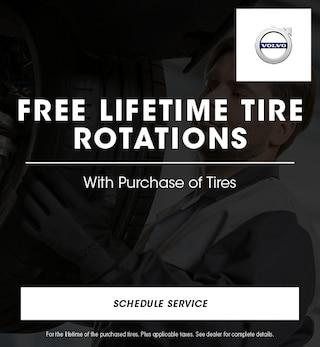 Free Lifetime Tire Rotations