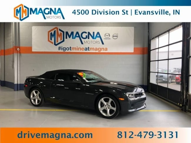 Used 2015 Chevrolet Camaro LT w/1LT Convertible for sale in Owensboro
