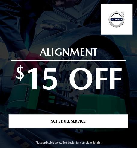 $15 Off Alignment