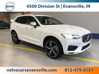 New 2019 Volvo XC60 Hybrid T8 R-Design SUV for Sale in Evansville, IN, at Magna Motors