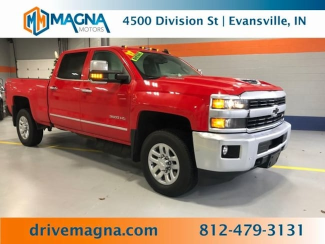 Used 2017 Chevrolet Silverado 3500HD LTZ Truck Crew Cab for sale in Owensboro