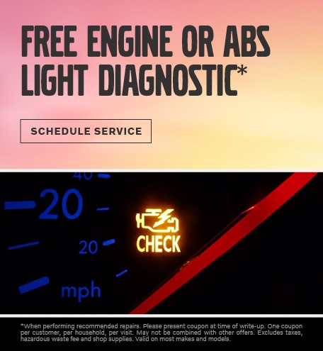 FREE ENGINE OR ABS LIGHT DIAGNOSTIC*