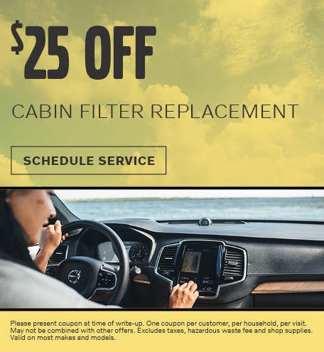 June | CABIN FILTER REPLACEMENT