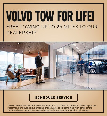 VOLVO TOW FOR LIFE!