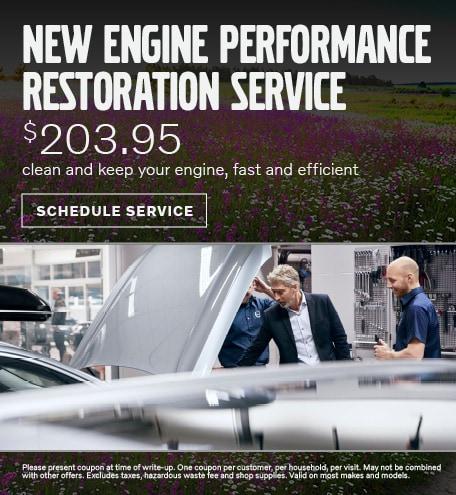 NEW ENGINE PERFORMANCE RESTORATION SERVICE