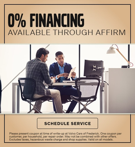 0% FINANCING AVAILABLE THROUGH AFFIRM
