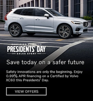 Presidents' Day Certified by Volvo Offer