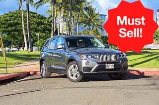 Used 2016 BMW X3 xDrive35i SAV in Honolulu, HI