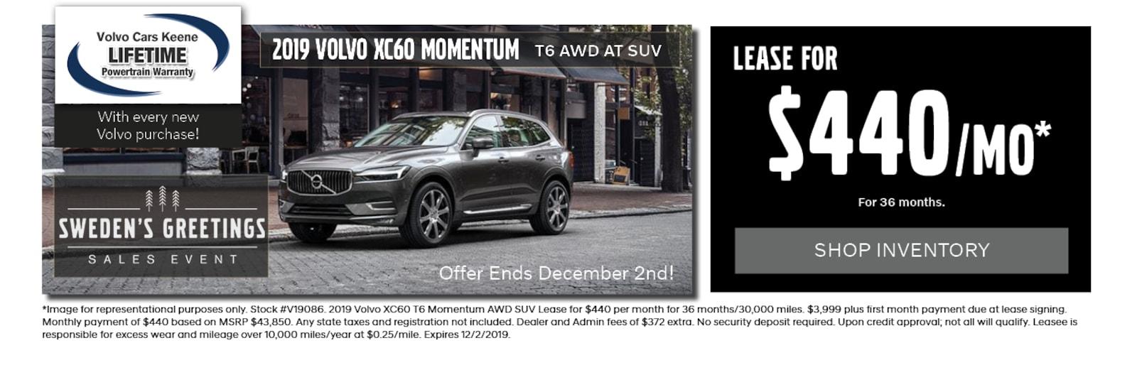 Volvo Dealers Nh >> Volvo Cars Keene East Swanzey Nh New Used Volvo