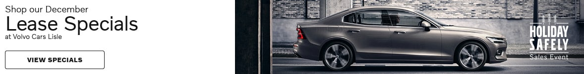 Shop our December Lease Specials at Volvo Cars Lisle