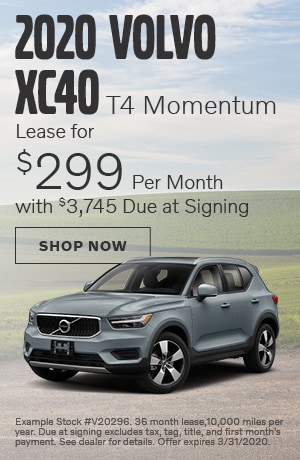 2020 Volvo XC40 - March Offer