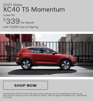 2021 Volvo XC40 T5 Momentum- March Offer