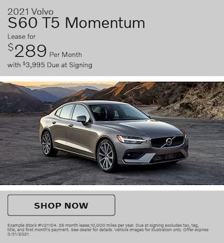 2021 Volvo S60 T5 Momentum- March Offer
