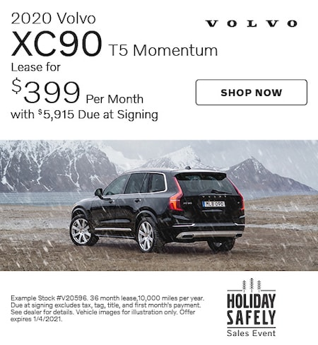 2020 Volvo XC90 T5 Momentum