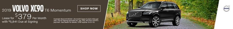 2019 Volvo XC90 - October Offer