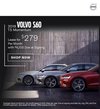 2019 Volvo S60 - September Offer