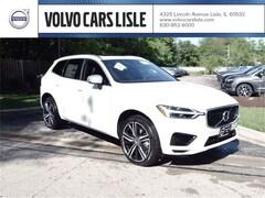 New 2019 Volvo XC60 Hybrid T8 R-Design SUV V90613 in Lisle, IL