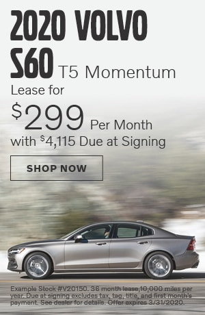2020 Volvo S60 - March Offer