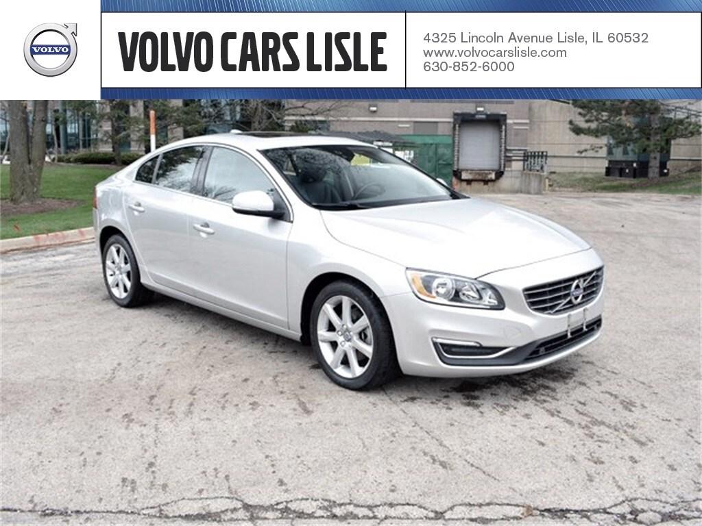 Volvo S60 T5 >> Used 2016 Volvo S60 T5 Drive E Premier For Sale Chicago Lisle Il