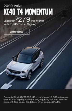 2020 Volvo XC40 - February Offer
