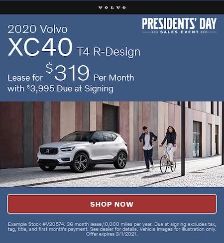 2020 Volvo XC40 T4 R-Design- February Offer