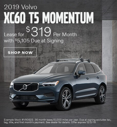 2019 Volvo XC60 - November Offer