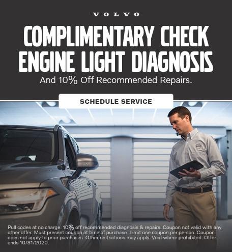 Complimentary Check Engine Light Diagnosis