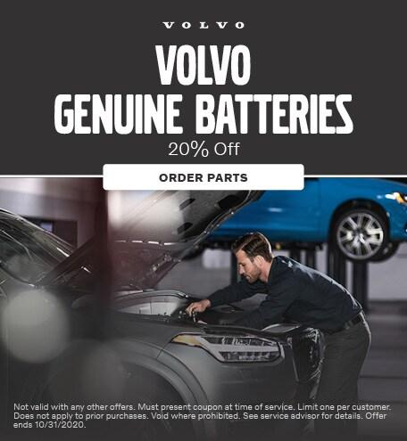 Volvo Genuine Batteries