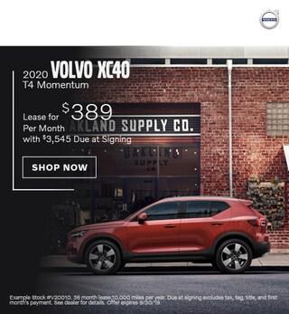 2020 Volvo XC40 - September Offer