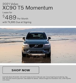 2021 Volvo XC90 T5 Momentum- March Offer