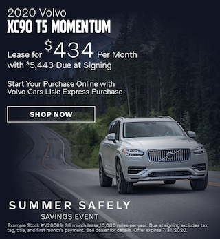2020 Volvo XC90 - July Offer