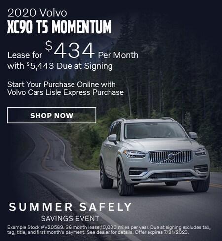 2020 Volvo XC90 - July Offer