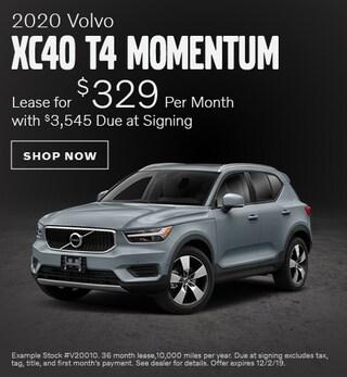2020 Volvo XC40 - November Offer
