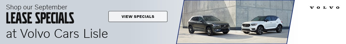 Shop our September Lease Specials at Volvo Cars Lisle