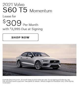 2021 Volvo S60 T5 Momentum- April Special