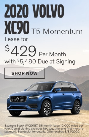 2020 Volvo XC90 - March Offer
