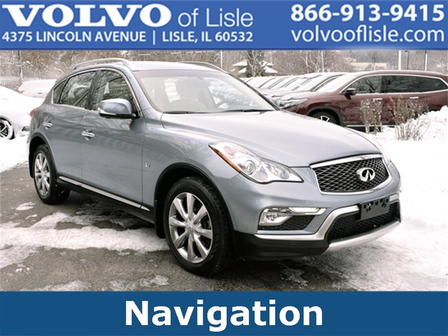 Used 2017 INFINITI QX50 Base SUV For sale in Lisle, IL