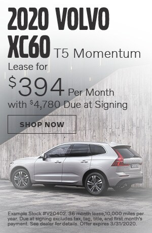 2020 Volvo XC60 - March Offer