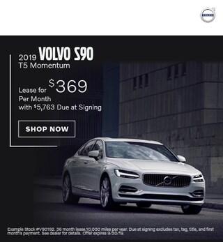 2019 Volvo S90 - September Offer