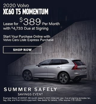 2020 Volvo XC60 - July Offer