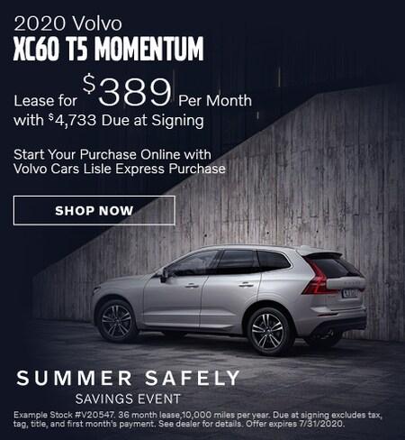 2020 Volvo XC60 - July Offer
