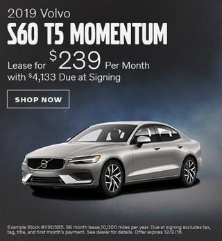 2019 Volvo S60 - November Offer