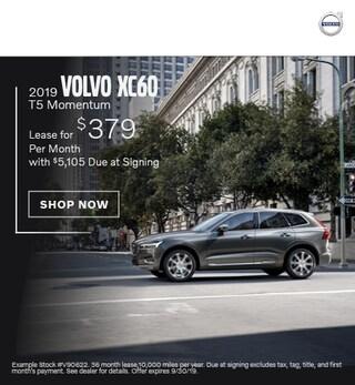 2019 Volvo XC60 - September Offer