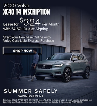 2020 Volvo XC40 - July Offer