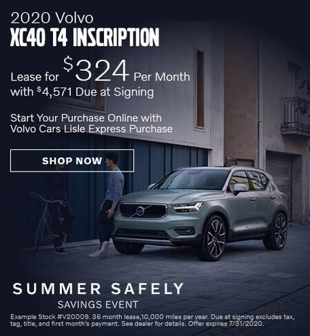 2020 Volvo XC40 - July Offer
