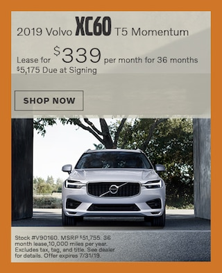 2019 XC60 - July Offer