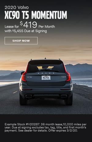 2020 Volvo XC90 - February Offer